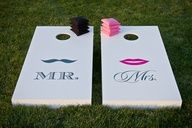 How cutee ! For the wedding reception...