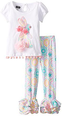 Mud Pie Little Girls' Bunny Tunic and Legging, White/Pink, 2T Mud Pie http://www.amazon.com/dp/B00QZUVVK2/ref=cm_sw_r_pi_dp_Ki6twb0TXHMD0