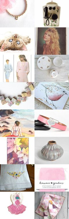 Welcome to Cyndee's pink cloud by Dorothy Williams on Etsy--Pinned with TreasuryPin.com