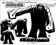 Herculoids by Alex Toth