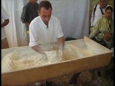 Sourdough bread kneading by hand Nicolas Supiot - YouTube