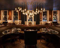 Luxury interior design! European Hotel Design Awards winner- Plum & Spilt Milk Restaurant   Design Contract