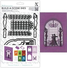 Docrafts Papermania Xcut Die Sets Build A Scene More New Cut Dies ...