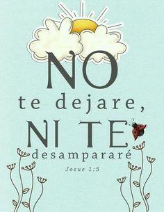 Centro Cristiano para la Familia: Yo siempre estare contigo, No te dejaré, ni te des...