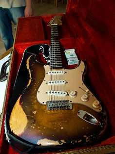 Beautiful Relic Fender Strat