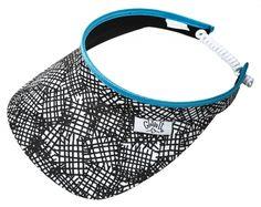 Stix Glove It Ladies Print Visor - best golf fashion accessories at #lorisgolfshoppe
