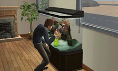 Whenever your Sim dropped his baby in a water tank. | The 29 Weirdest Things Ever To Happen When Playing The Sims