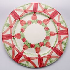 Paddy Platzteller Christmas Tree, Plates, Holiday Decor, Tableware, Design, Home Decor, Red, Green, Dishes