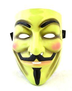 #BFCM #CyberMonday #Trendy Halloween - #Rubies V for Vendetta Mask - AdoreWe.com
