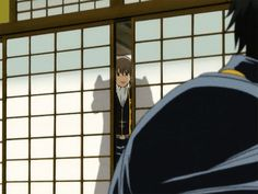 If Okita was grinning at me like that I'd run.  Gintama (gif so click to see)
