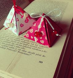 ♫ handmade pyramid gift box 1 ♪