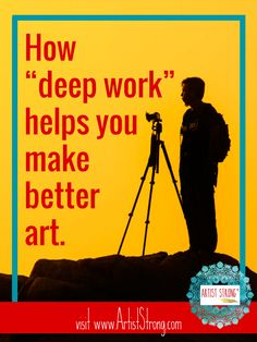 Making art is a focused, time driven practice. Newport fears our culture of immediacy could be taking us away from our best selves. Discover my top takeaways.