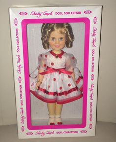 1982 12 Shirley Temple Collectible Doll From Ideal by Curioshop1