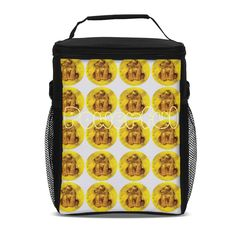 Power lunch in this powerful Solar Plexus Design insulated lunch bag. Zip around closure with back zip pocket and two side mesh pocketsRemovable shoulder strap.