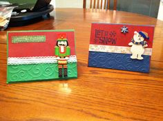 2011 - First Christmas cards created - made by Kris