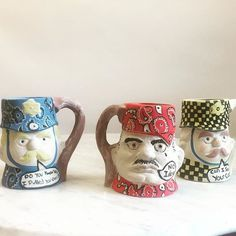 Frequently Asked Questions Series these are Toby Mugs. Things are moving forward @projectart. Wu Tang Worcester coming soon! -Ashley.  by robske200