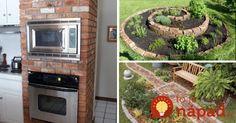 Krásne nápady, ako využiť nevyužité a staré tehly na vylepšenie vašich domov. Šikovní ľudia z nich dokážu vytvoriť skutočne nádherné veci.