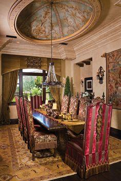 Villa de Justicia Furniture Collection Dining Table FINE magazine
