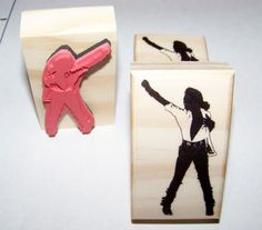 Hey, I found this really awesome Etsy listing at https://www.etsy.com/listing/176491180/new-mounted-rubber-stamp-michael-jackson
