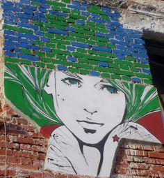 Unknown Artist  Location: Bucharest, Romania #street #art #romania #graffiti #artists #world Best Street Art, Street Smart, Street Artists, Graffiti Artists, Modern Art, Contemporary Art, Chalk Art, Best Artist, Urban Art