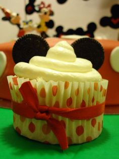 Mickey cupcake clubhouse mickey party toddler kid baby disney birthday