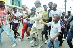 Dancehall superstar, Shabba Ranks returning to Jamaica in 2012 since 2001 where he visited Olympic Gardens in Kingston mobbed by residents awed by his presence.