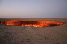 Turkmenistan, La porta dell'inferno