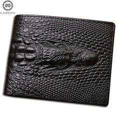 7.54$  Watch now - http://ali1wn.shopchina.info/go.php?t=32803470740 - 2017 skin Crocodile clutch purse hidden pocket leather men wallet billeteras masculinas porta moedas 7.54$ #buyonlinewebsite