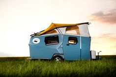 An expandable camper designed to decrease fuel costs and usage.