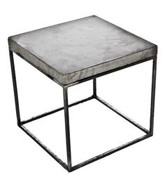 Concrete Cube End Table | Home Furniture | Patrick Cain Designs | Scoutmob Shoppe | Product Detail