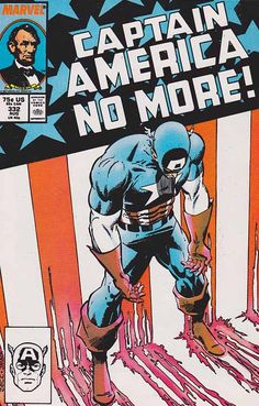 Captain America Vol. 1 After nearly 50 years, Steve Rogers quits being Captain America, and a few years pass before he takes up the Shield again. Captain America Comic Books, Marvel Captain America, Marvel Fan, Comic Book Superheroes, Marvel Comic Books, Best Comic Books, Comic Books Art, Comic Art, Book Art