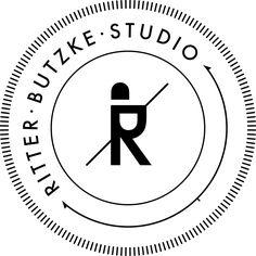 Ritter Butzke Studio Logo #logo #branding #identity #brand #mark #logotype #knight #shield #person