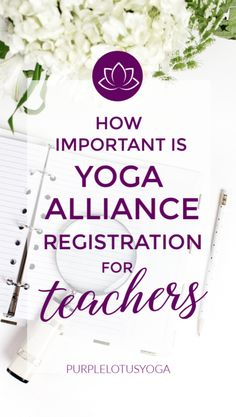 Many teachers wonder about registering with Yoga Alliance after completing teacher training. Learn if it's right for you. Teacher Favorite Things, Best Teacher, Yoga For Kids, Kid Yoga, Yoga Gym, What Is Yoga, Continuing Education, Physical Education, Gym Games