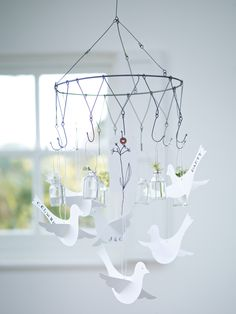Wirework Chandelier