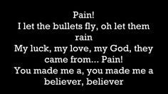 ► Imagine Dragons - Believer |LYRICS| - YouTube