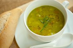 Asian Chicken Soup with Pea Soup Recipe