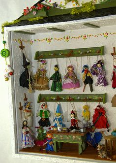 Marionetas del taller