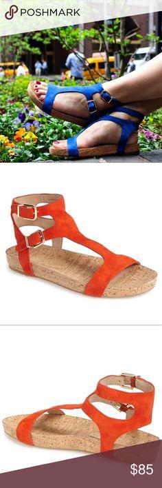568d6d0655e ✨NEW LISTING✨ NWOT Via Spiga Lamuela Sandal Minimalist suede straps and an  earthy cork