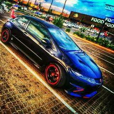 Honda civic Type R..... My   Snake eyes fn2 civic Type R