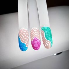 #nails #nails2inspire #nailstoinspire #nailsinspiration #studiopazoor #longnails #nails2020 #colourfullnails #pinknails #bluenails #rednails #paznokcie #glassindigo #abstract #abstractnails #paznokciehybrydowe #inspiracjepaznokciowe #nailsbyania Blue Nails, Nails Inspiration, Lava Lamp, Abstract, Glass, Color, Colour, Summary, Drinkware