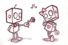 Robot Love by ~Fray-ze-ay on deviantART