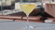 //Nolen's Bee's Knees //  2 oz. Beefeater Gin ½ oz. honey simple syrup* 3 oz. fresh lemon juice