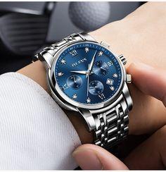 c29ab22aaf91 Relojes de hombre top marca de lujo OLEVS . relojhombre relojhombrebaratos   relojmasculino Reloj