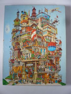 Vintage 1977 Springbok Verticalville Jigsaw Puzzle Over 500 Pieces | eBay Definitely want to get this one.