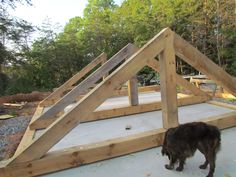 The timber frame