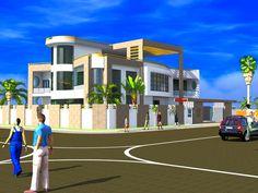 Projet de construction dune Villa a Abidjan en Cote d'ivoire