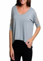 Lacey -- CHARCOAL GREEN GREY  ~~ Your next outfit is one click away! Shop at www.SassyRiley.com