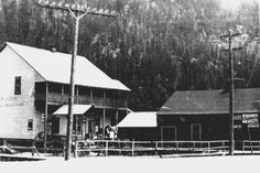 Foxcrowle Percival Cook's Store which was located in Coalmont, B.C.