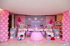 Cristiana Gurgel Festas Personalizadas: *Peppa Pig Princesa*