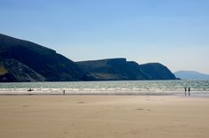 Keel Beach is one of the Wild Atlantic Way discovery points on Achill Island. #mayo #ireland #nature